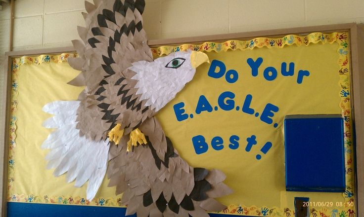 eagle bulletin board - Google Search | Bulletin boards | Pinterest ...
