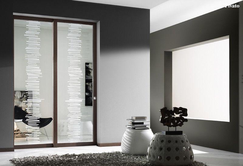 porte interne pivato, rivenditori, porte pivato, design moderno ... - Porte Vetro Decorate Scorrevoli