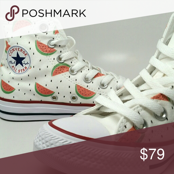 1f33a4a16ecb Astra (3 colors). Custom Converse Watermelon High ...