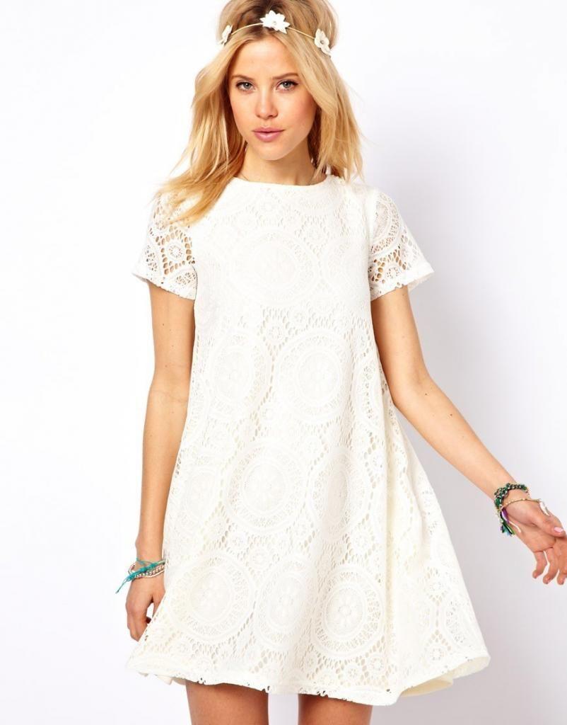 Flowy Lace Dress