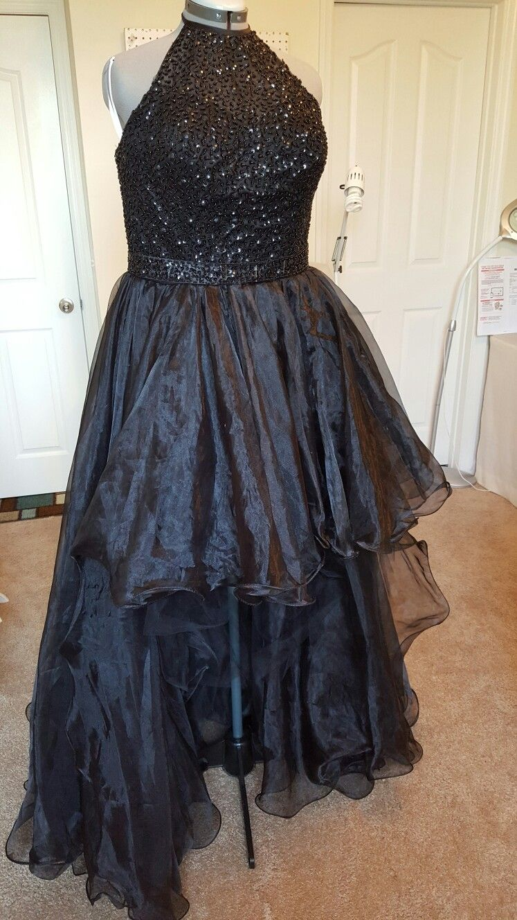 Before adding pickup points to prom dress custom alterations by