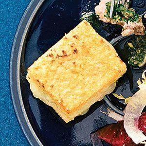 Small-plate holiday party menu | Polenta torta | Sunset.com