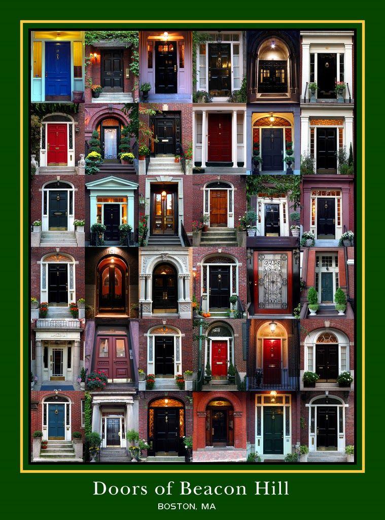 Doors of Boston Hill  sc 1 st  Pinterest & Boston Walking Tour: Beacon Hill | The Write-Aholic | storage ...