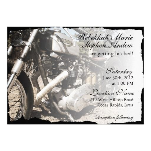 This DealsCustom Motorcycle Biker Wedding InvitationWe provide you all shopping site and all informations in our go to store link. You will see low prices on
