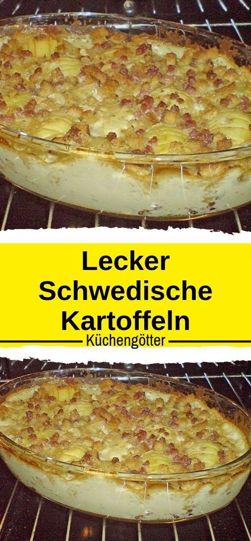Lecker Schwedische Kartoffeln  #tortelliniauflauf