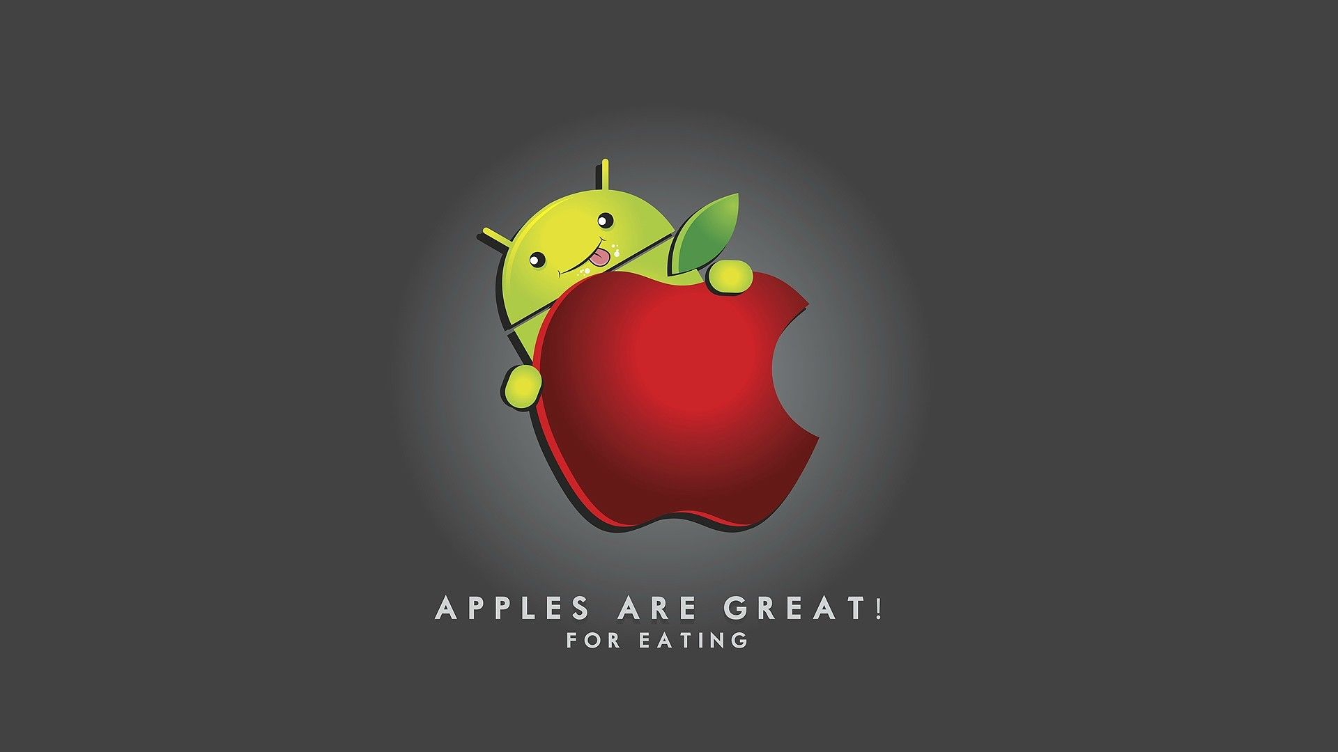 funny google android and apple wallpaper | awesome | pinterest