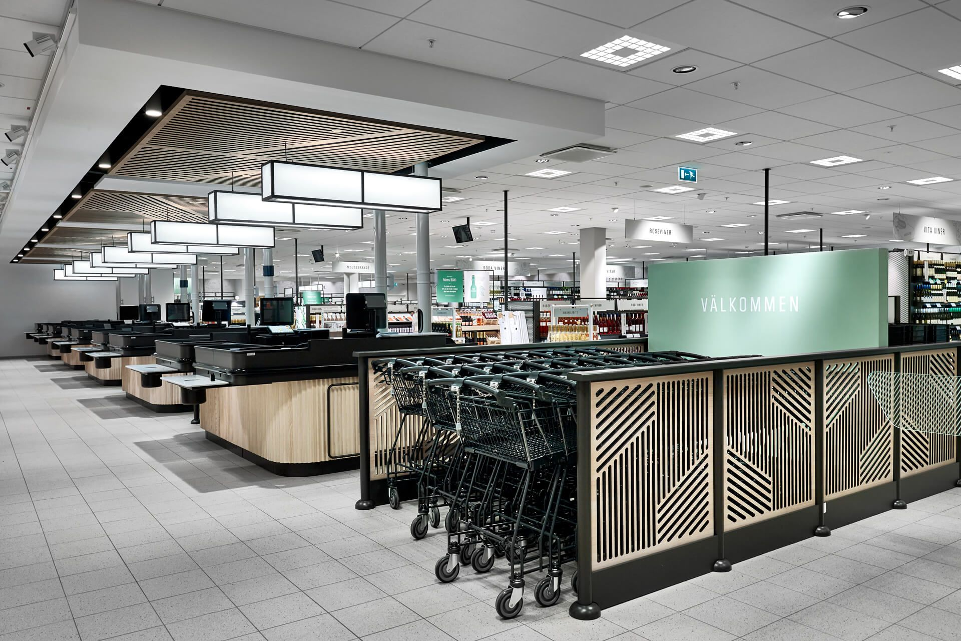 Design Interieur Granby Systembolaget Caseimage Kassa2 Granby Vm And Display