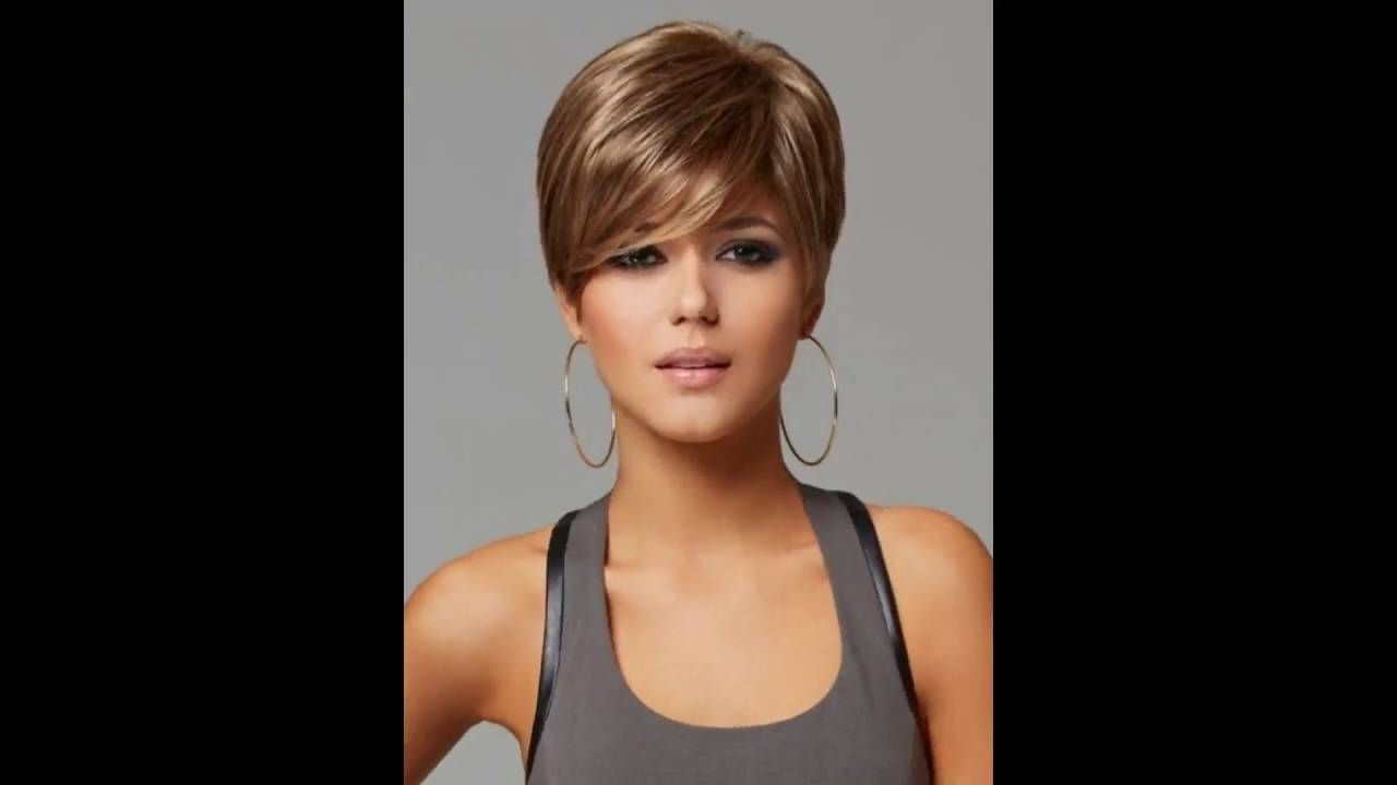 short hairstyles with bangs thick hair short thick hairstyles
