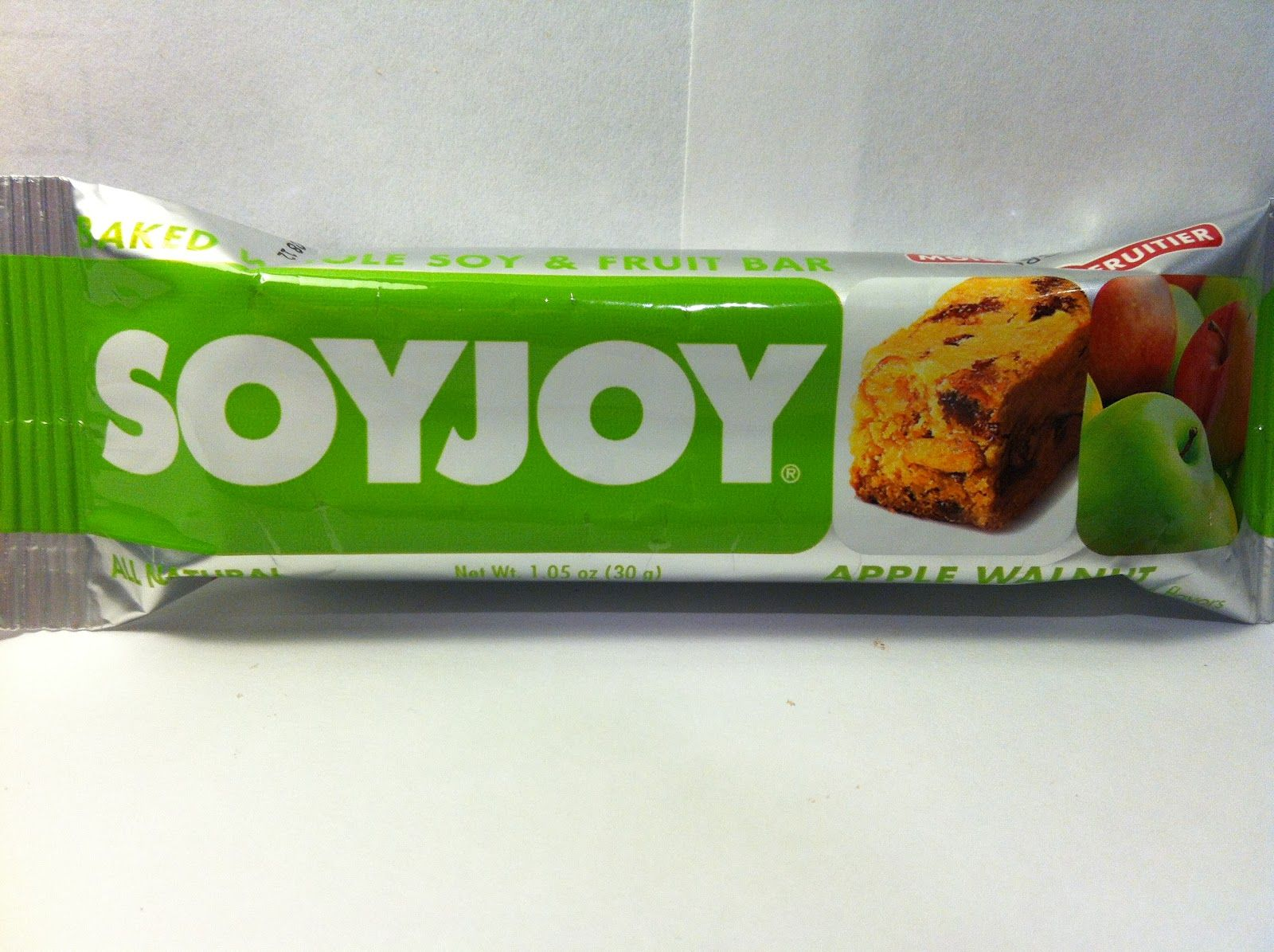 Crazy Food Dude Review: SOYJOY Apple Walnut Baked Soy & Fruit Bar