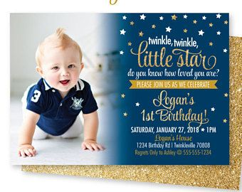 Twinkle twinkle little star birthday invitations star theme twinkle twinkle little star birthday invitations star theme birthday invitation boy birthday invitation filmwisefo