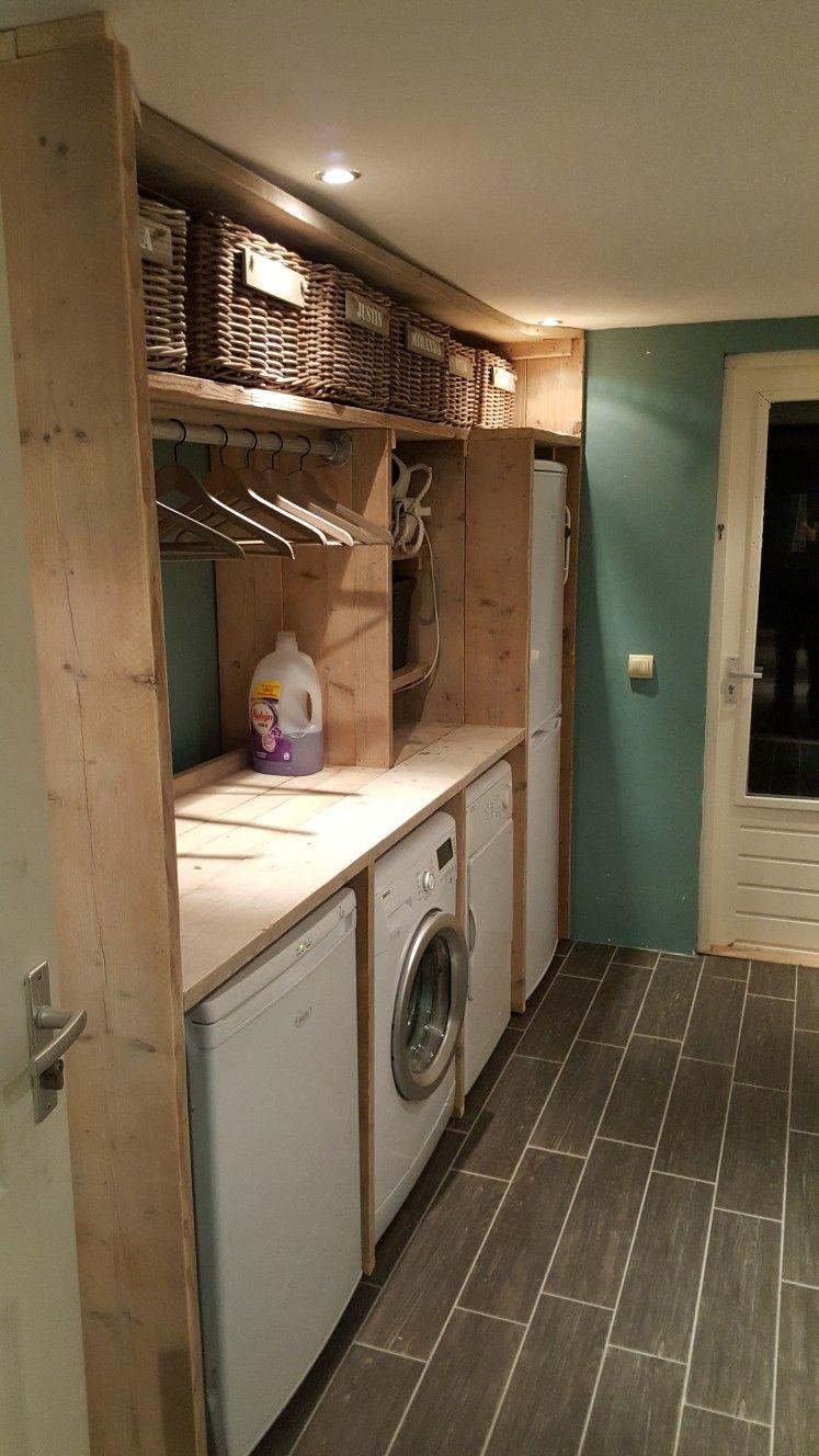 Wasmachine Ombouw Petite Buanderie In 2019 Wasruimtes