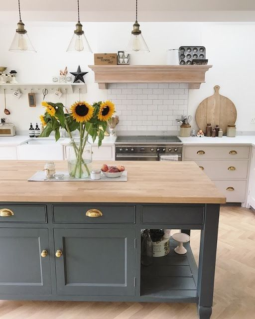 Best Kitchen Island In Downpipe Farrow And Ball Kitchen 400 x 300