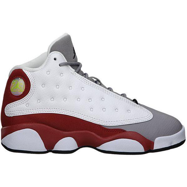 c3f880716c59 The Air Jordan 13 Retro (10.5c-3y) Preschool Boys  Shoe. ( 80) ❤ liked on  Polyvore featuring shoes