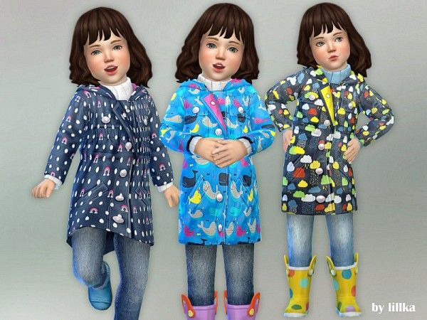 The Sims Resource: Winter Clothing by lillka • Sims 4 Downloads