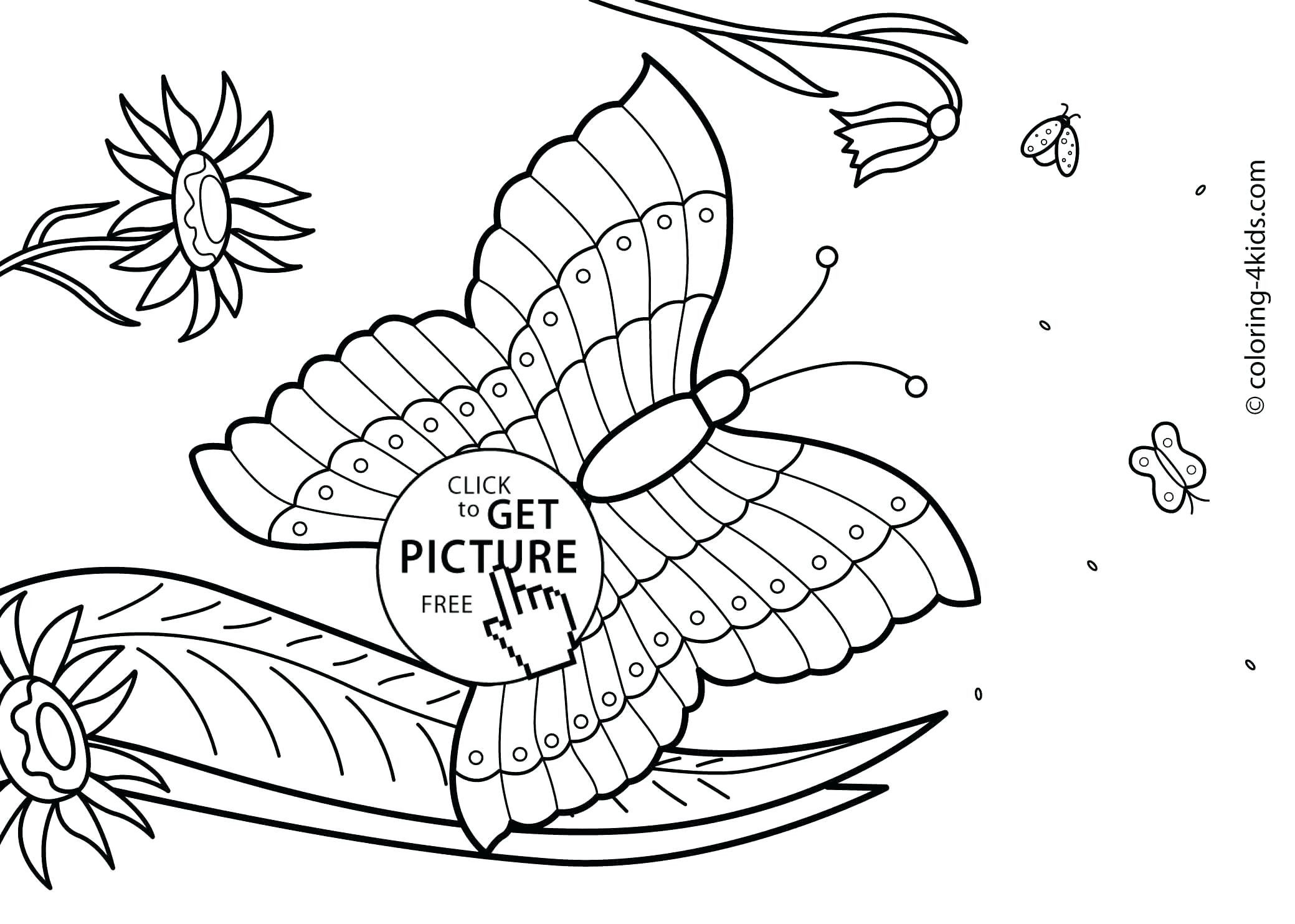 5 Worksheet Free Coloring Pages For Kids To Print Free