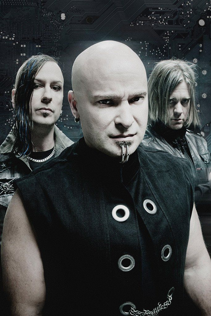 Disturbed 2 Photo Rock Band Print Heavy Metal Legends Picture Music Poster