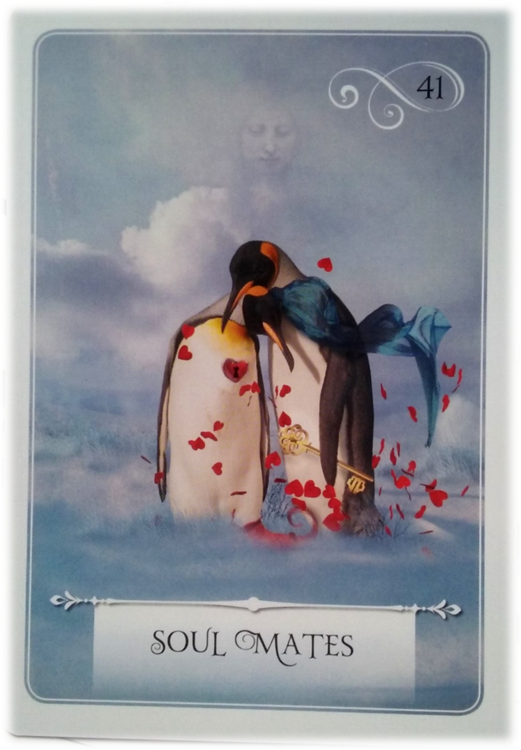 Soul Mates ~ Wisdom of the Oracle divination card by Colette Baron-Reid