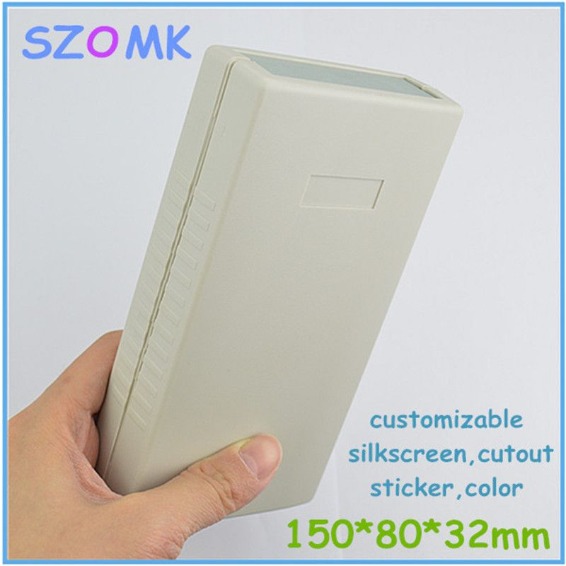 1 Piece Light Grey Electronics Plastic Cabinet Abs Plastic Instrument Enclosure For Controller 150 80 32m With Images Plastic Cabinets Light Accessories Cool Things To Buy