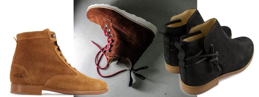 Schöne Winterschuhe in fair, nachhaltig und vegan: Stiefeletten von ekn footwear