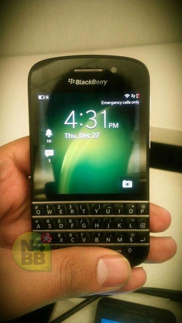 More BlackBerry N-Series images surface, appeases QWERTY lovers with