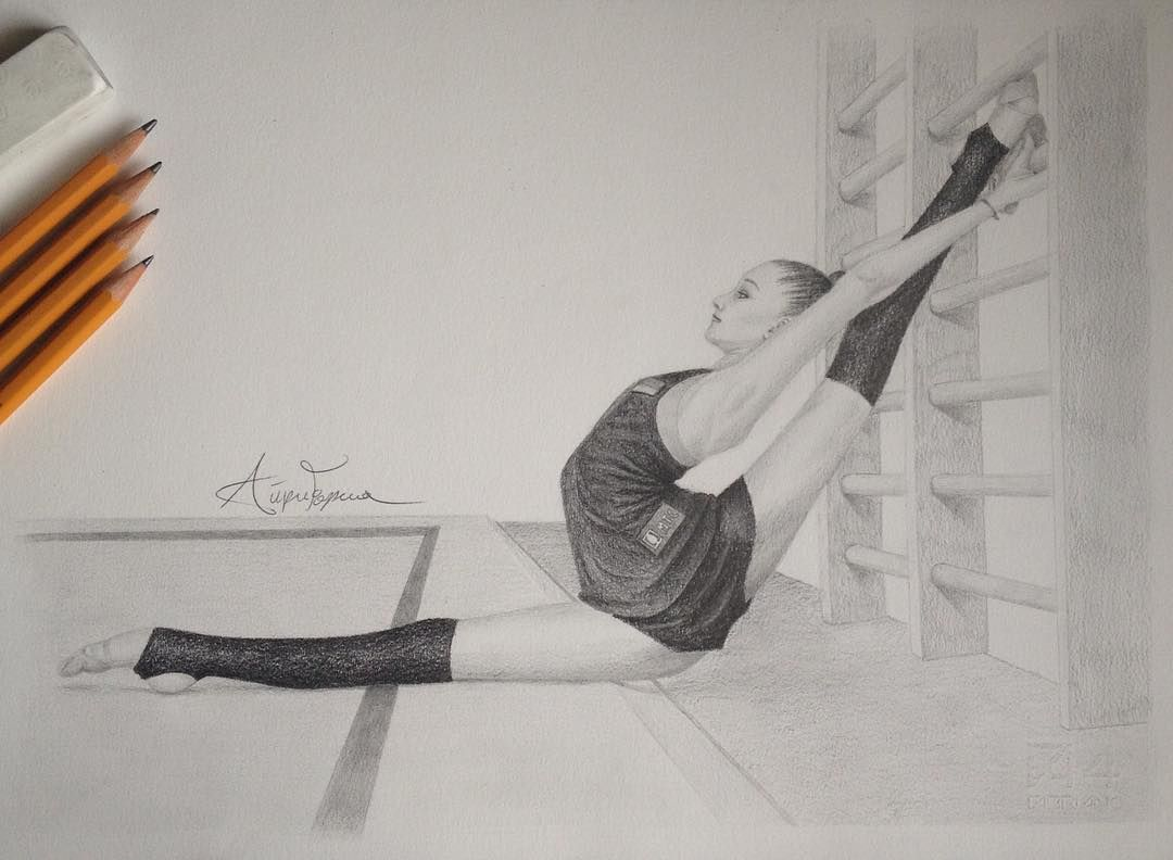Pin De Tania En Gymnastics