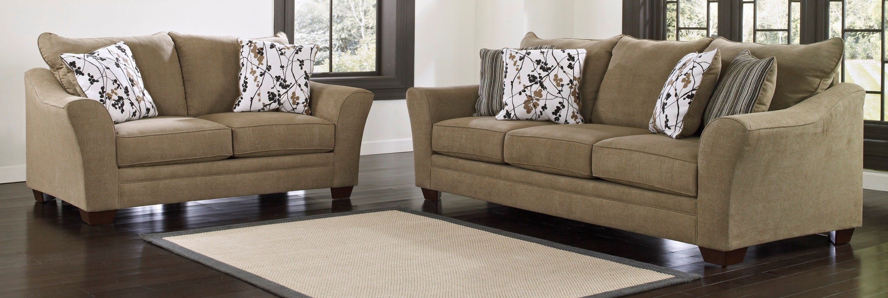Love These Ashley Furniture Sofas They Re The Perfect Living Room Decor For Such