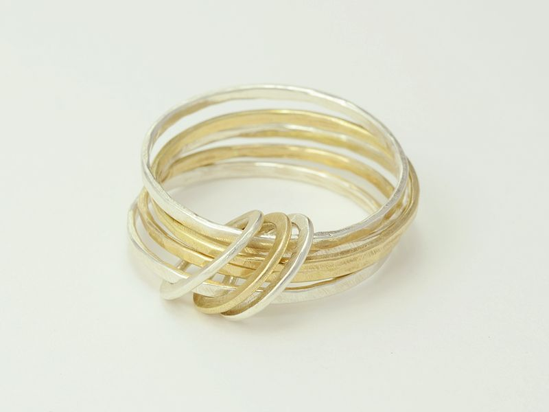 Circles ring   Made By Hand Online