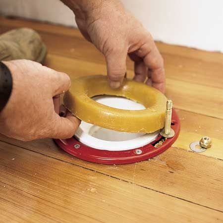How To Replace A Toilet Wax Ring With Doug Harris At Fox Hollow Cottage Diy Home Repair Plumbing Bathroom Installation