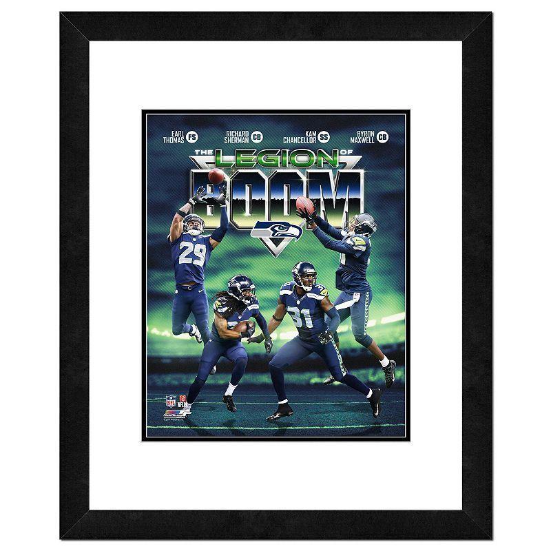 Kohl s Seattle Seahawks Legion of Boom Framed 14 x 11 Photo ... 70648f204