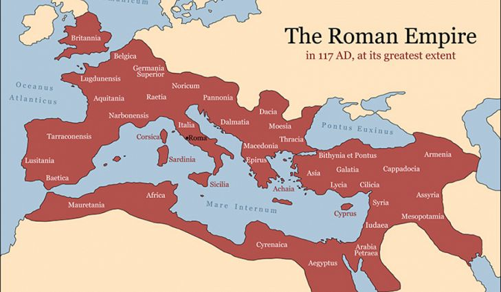height of roman empire map 5 Important Cities Of The Roman Empire Roman Empire Roman Empire Map Roman History height of roman empire map