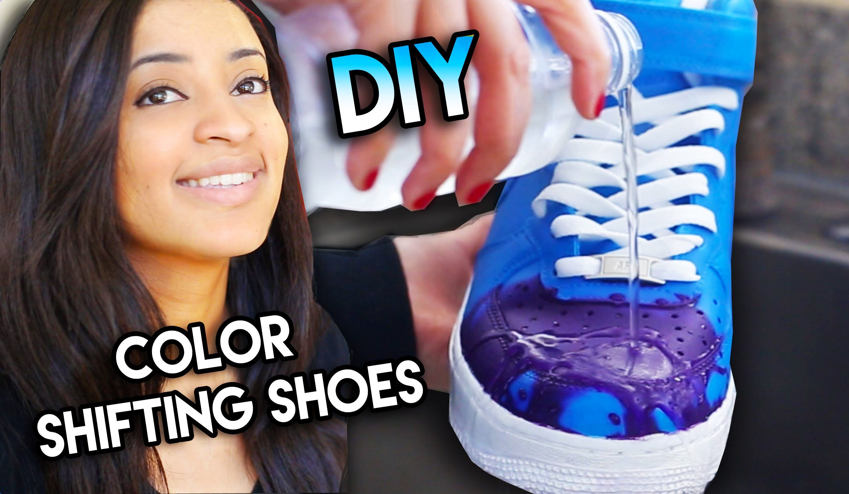 24336581272 How To  Color Changing Shoes With Water Heat Solar   Blacklight Exsposur.