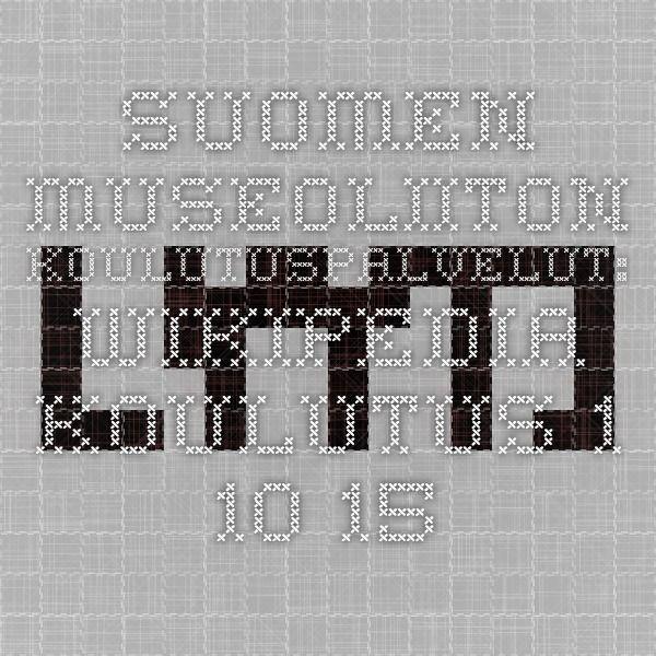 Suomen museoliiton koulutuspalvelut: Wikipedia-koulutus 1.10.15