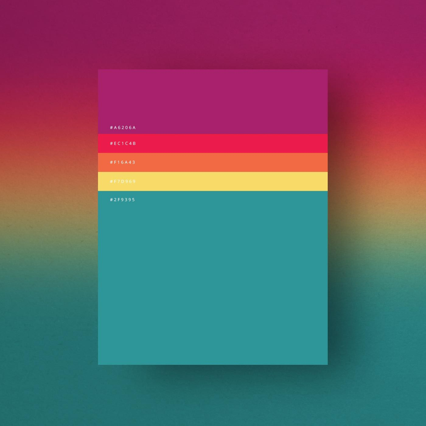 Game boy color palette gimp -  P Italian Creative Agency Dumma Branding Created This Gorgeous Minimalist Color Palette Collection Of