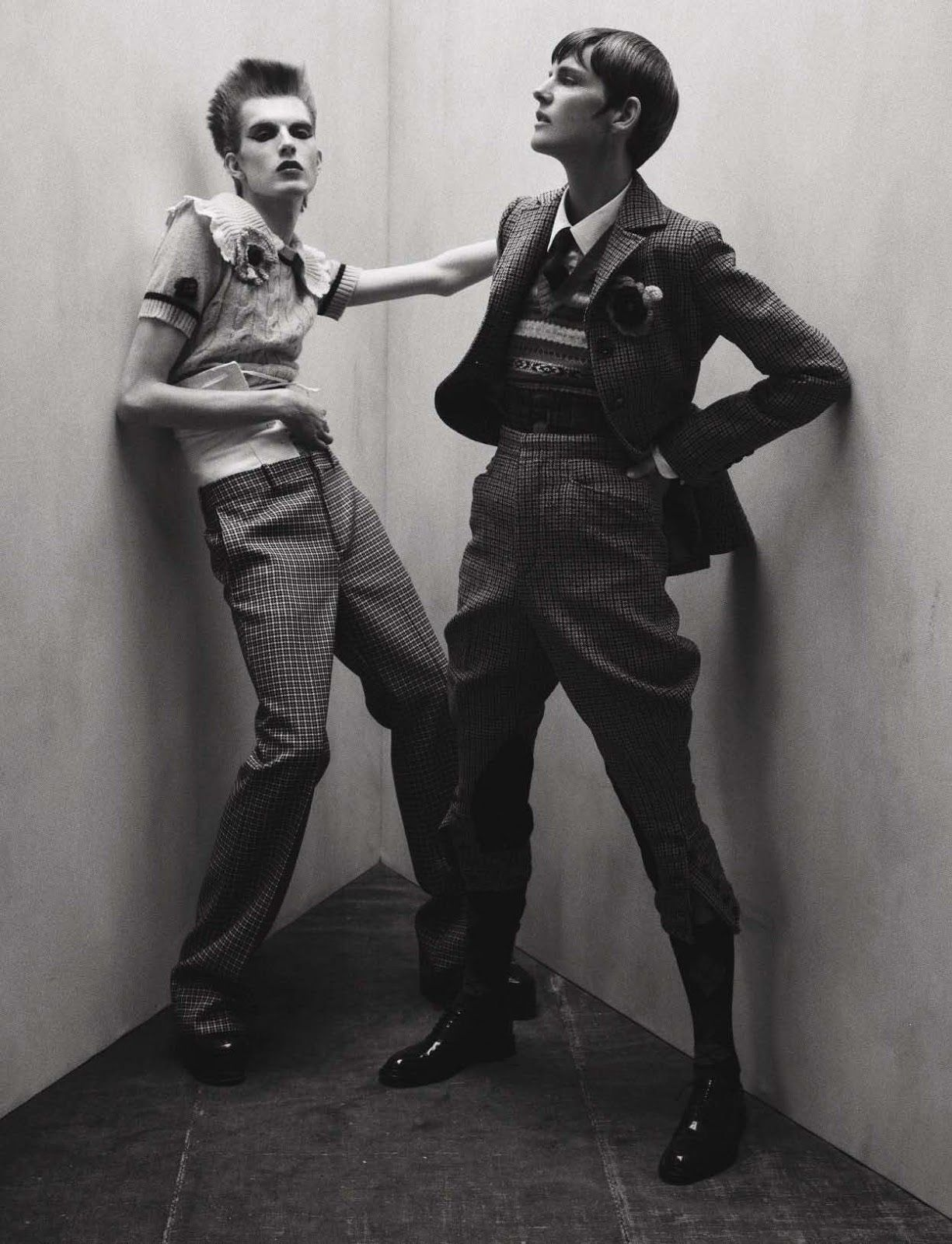 Smile: Stella Tenant & James Crewe in Vogue Italia July 2016 by Tim Walker.