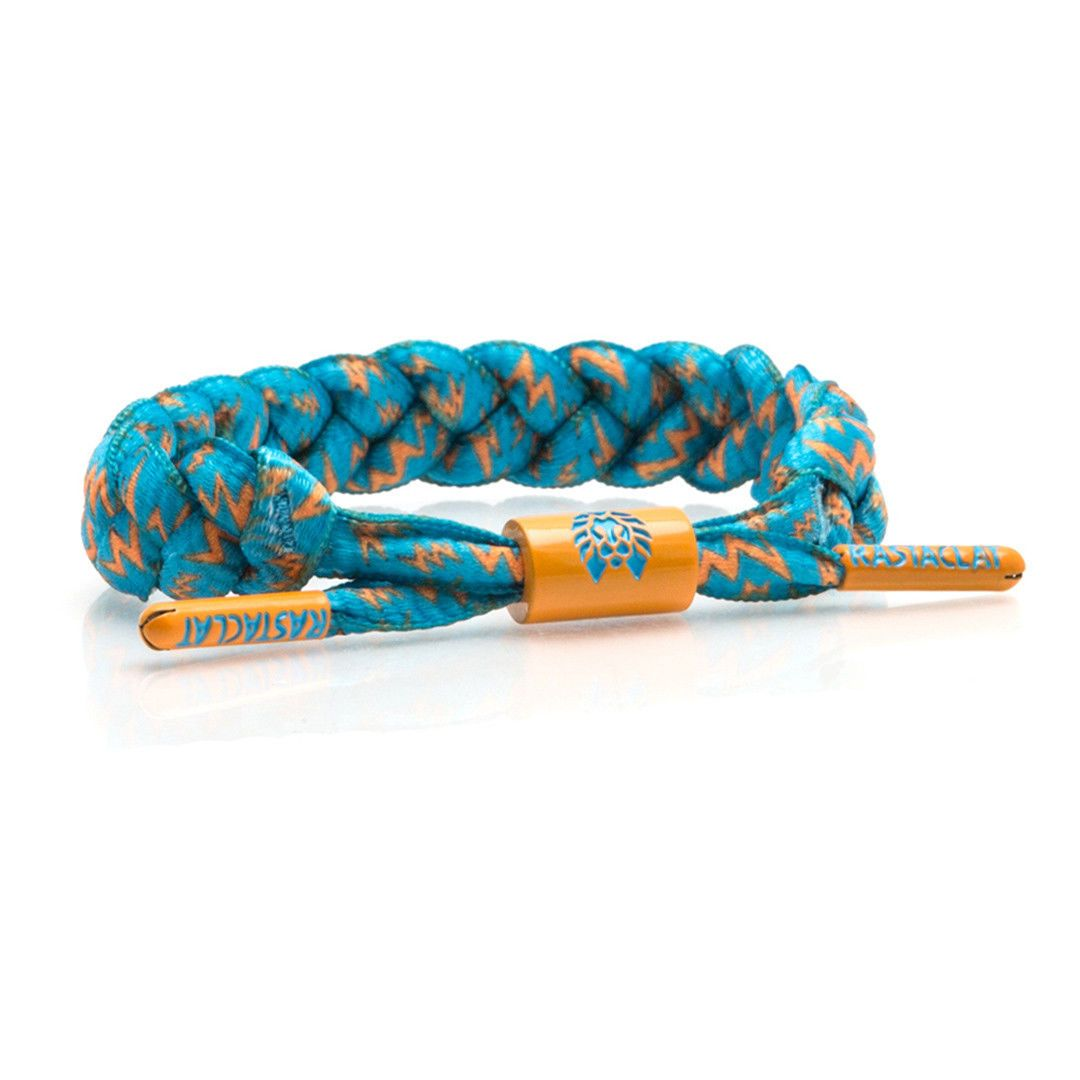Rastaclat zard blue orange classic shoelace wristband bracelet
