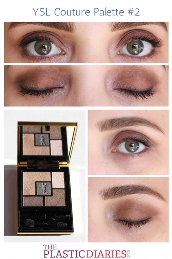 Ysl couture palette 2 review and swatches swatch eyeshadows ysl couture palette 2 review and swatches ccuart Gallery