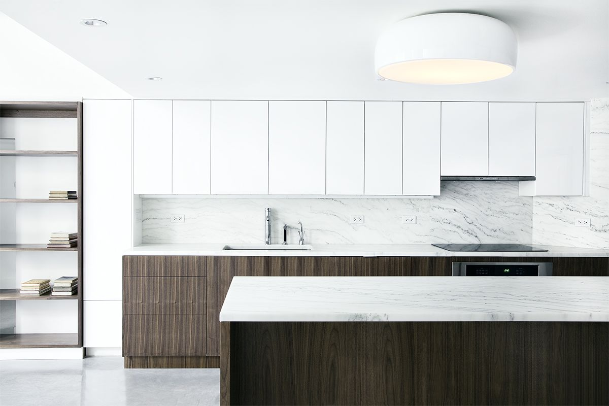 A Brooklyn kitchen with white cabinets and open shelving | Mabel ...