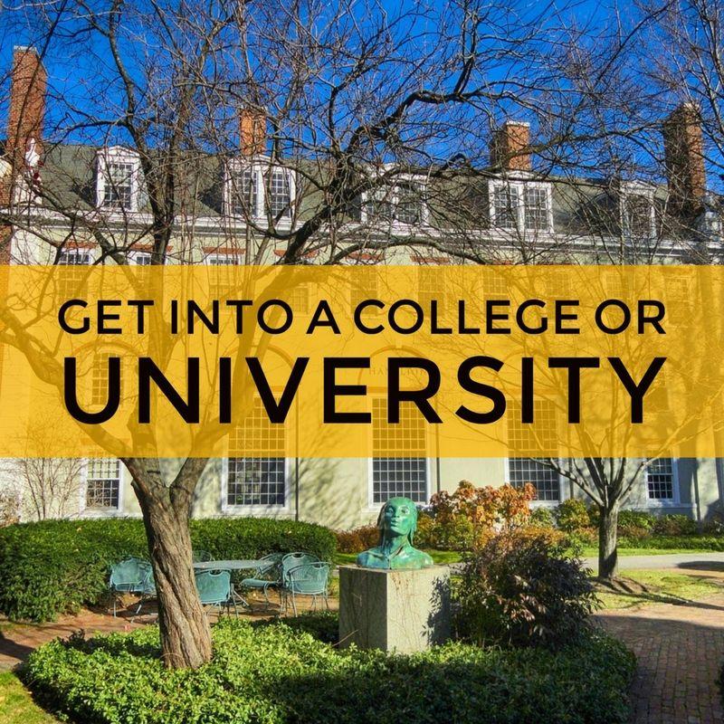 get into a university University, Online, Online classes