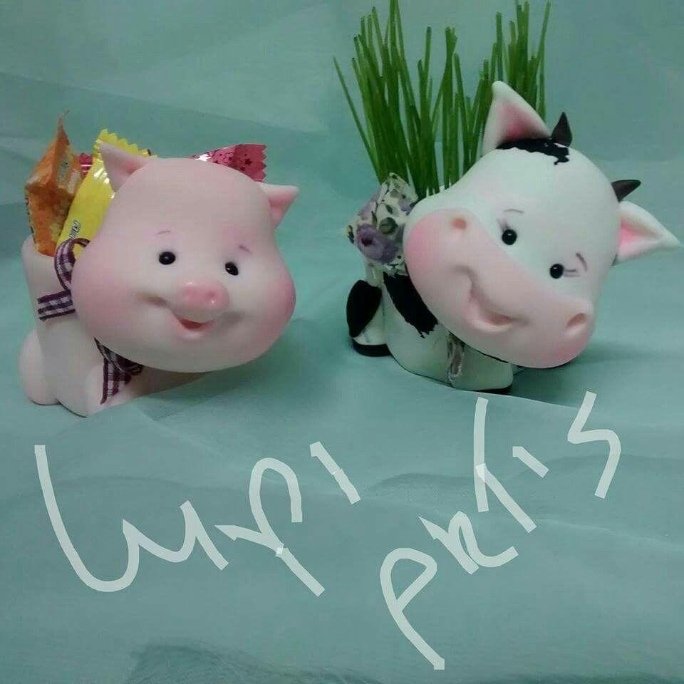 Schweinchen Kuh Schale