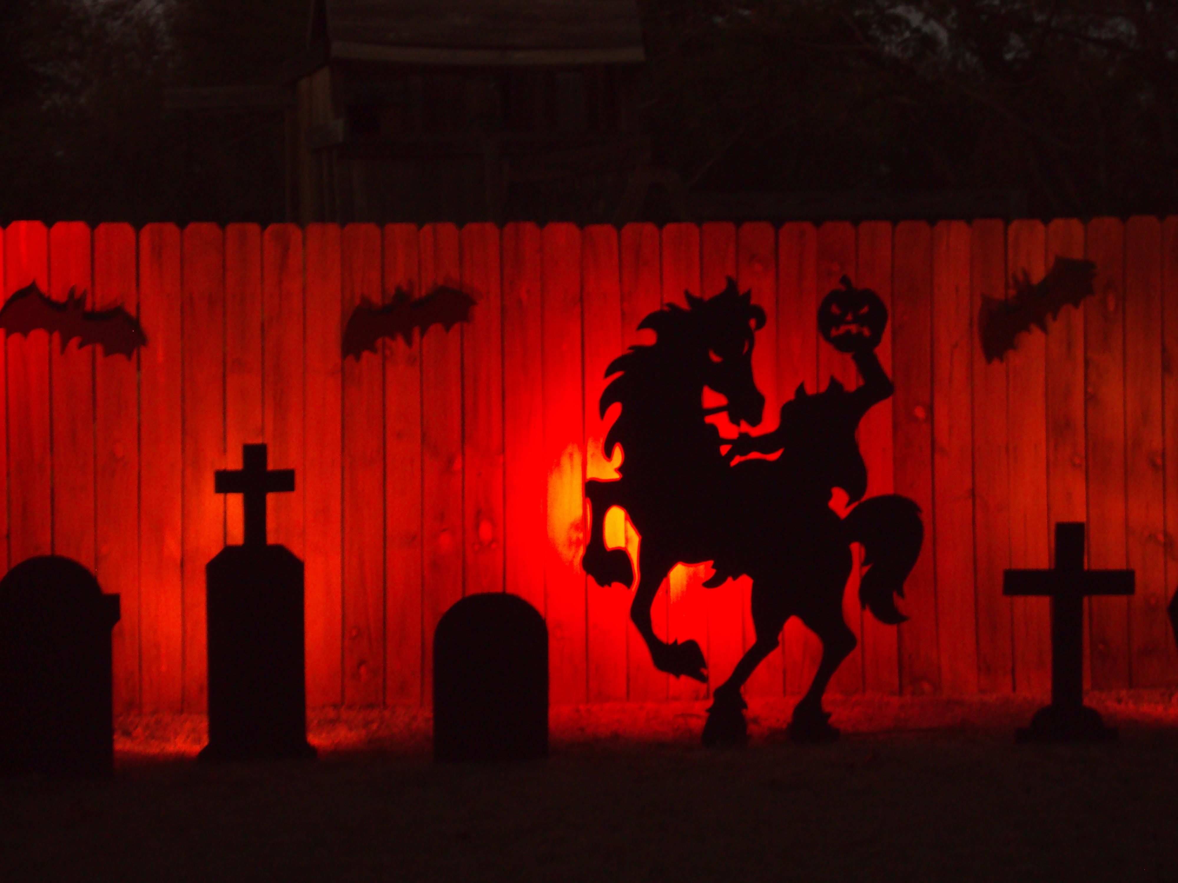 Diy halloween garage door decorations - Find This Pin And More On Halloween Facades