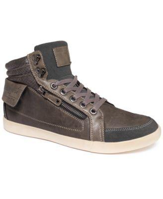 GUESS Men's Shoes, Jiffy Hi-Top Sneakers