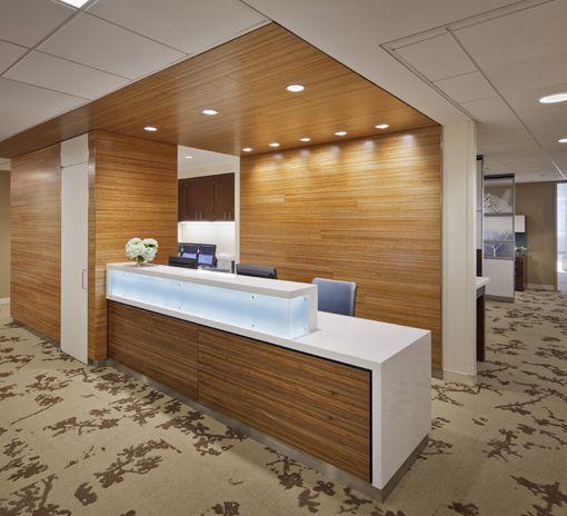 North Shore Long Island Jewish Medical Center   Healthcare Featured  Installation. Reception CounterReception DesksHealthcare DesignMedical  Office ...