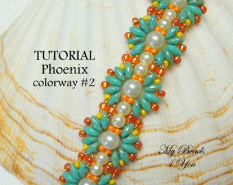 Beading tutorial instructions beadweaving pattern beaded seed.