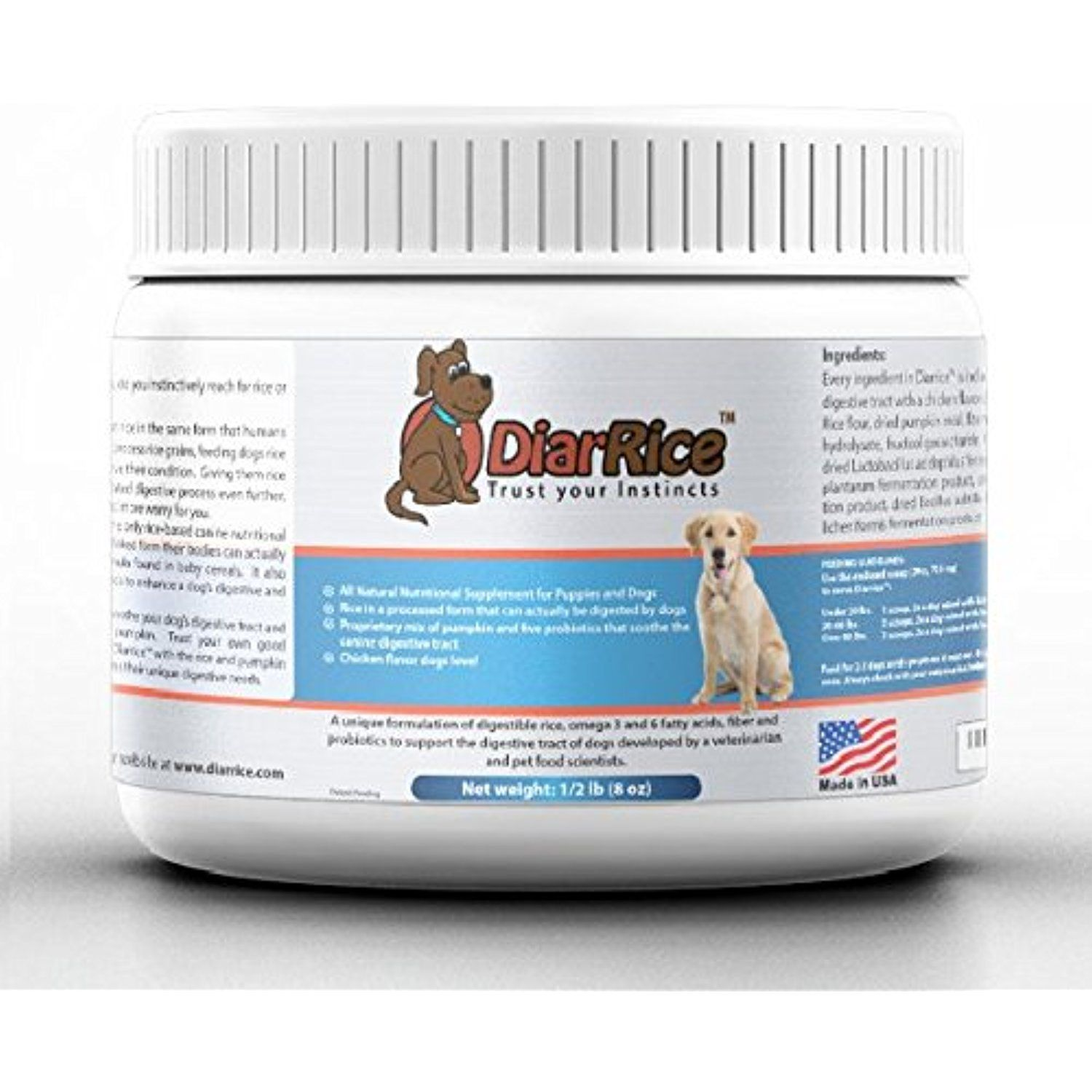 Diarrice for dogs 8 oz all natural probiotic for dogs