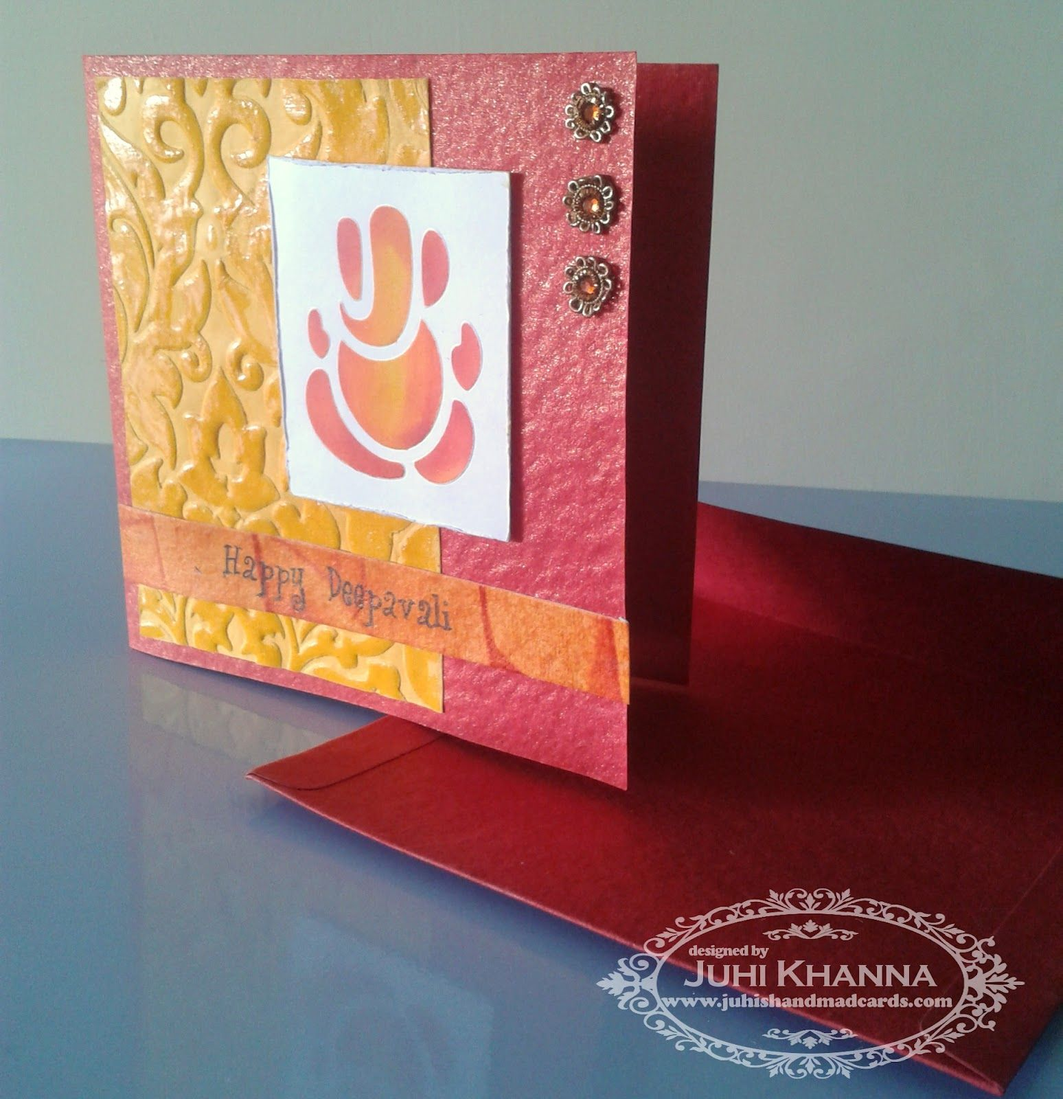 Juhis handmade cards handmade cards for diwali gunjan diwali celebrations can be given a personal touch through personalized diwali homemade greeting cards signifying the victory of good over the evil within kristyandbryce Image collections