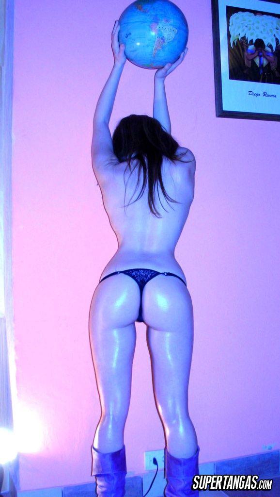 Ass booty butt moon thong wonder
