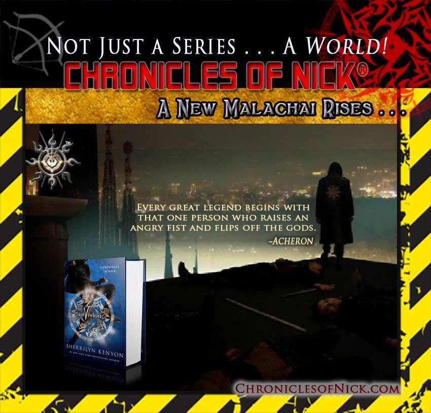 Invision Chronicles Of Nick Kenyon Sherrilyn Kenyon