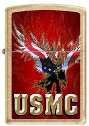 USMC Eagle Zippo Lighter