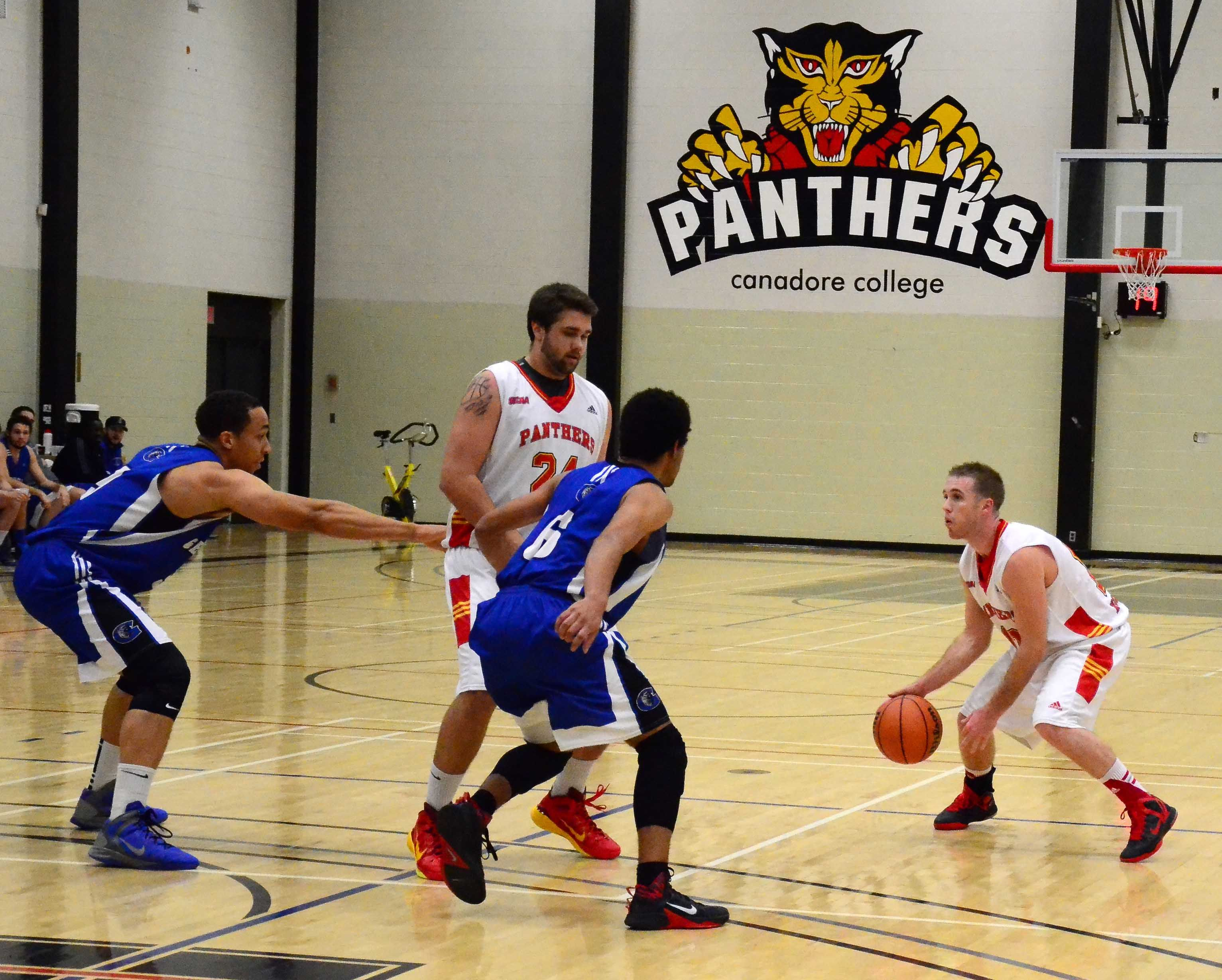 Men's Varsity Basketball http//www.canadorecollege.ca