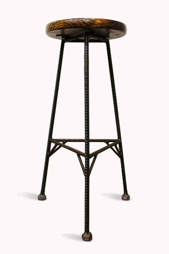 Swell Reclaimed Wood Bar Stools Metal Bar Stools Industrial Bar Bralicious Painted Fabric Chair Ideas Braliciousco